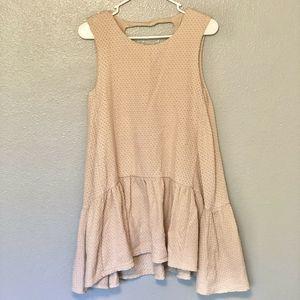 Free People Boho Textured Sleeveless Dress/tunic